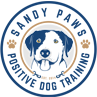 Sandy Paws Positive Dog Training Logo
